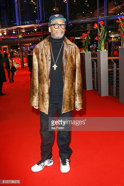 Director Spike Lee attends the 'ChiRaq' Premiere during the 66th Berlinale International Film Festival on February 16 2016 in Berlin Germany