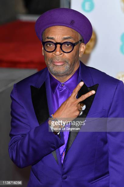 Director Spike Lee attends the EE British Academy Film Awards at Royal Albert Hall on February 10, 2019 in London, England.