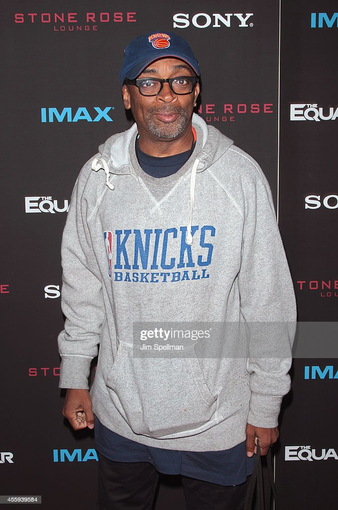Director Spike Lee attends 'The Equalizer' New York Screening at AMC Lincoln Square Theater on September 22, 2014 in New York City.