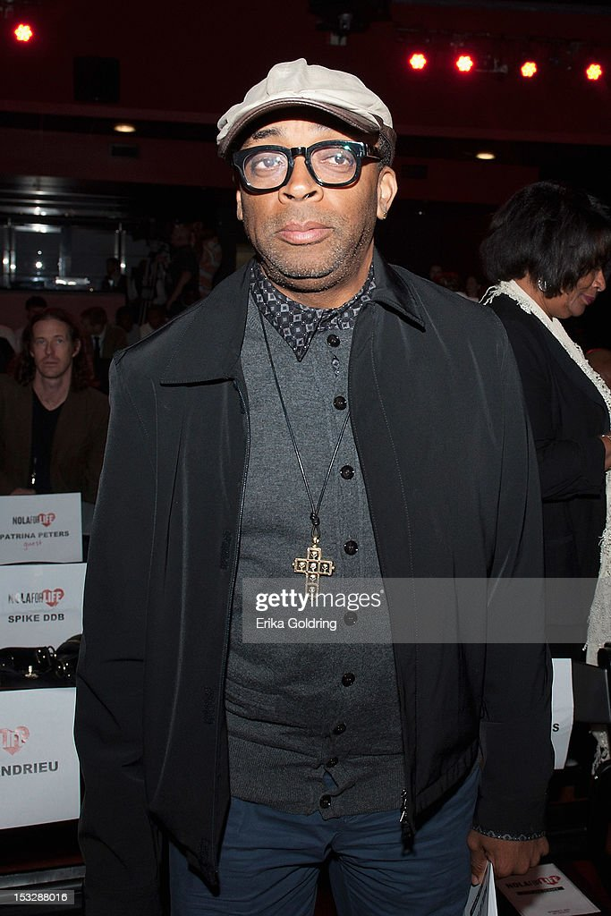 Director Spike Lee attends the 'Flip the Script' Public Awareness campaign launch at The Joy Theater on October 2, 2012 in New Orleans, Louisiana.