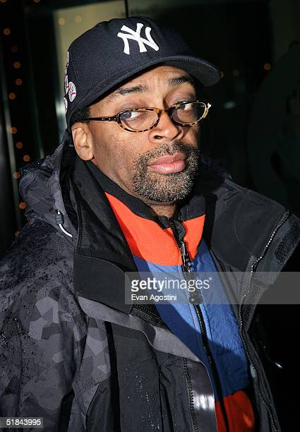 "Director Spike Lee attends ""The Life Aquatic With Steve Zissou"" premiere after party at Roseland Ballroom December 9, 2004 in New York City."
