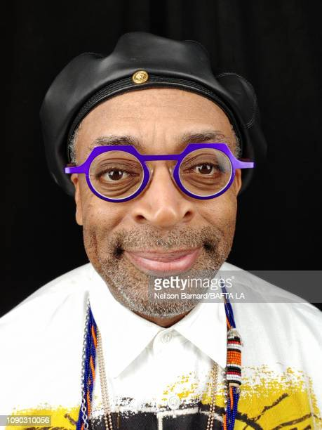 Director Spike Lee attends the portrait studio at Four Seasons Hotel Los Angeles at Beverly Hills on January 05, 2019 in Los Angeles, California.