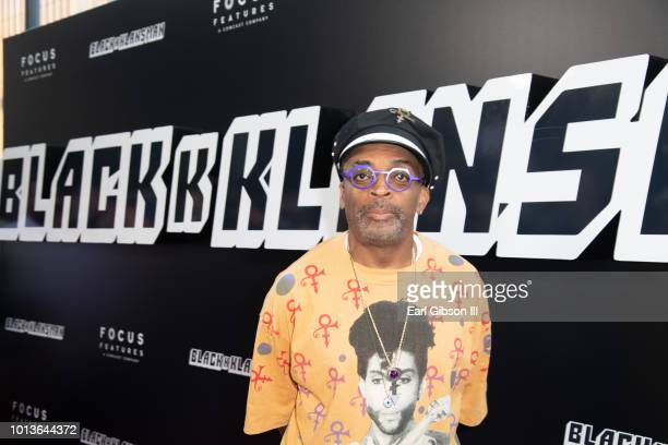 Director Spike Lee attends the Premiere Of Focus Features BlackkKlansman at Samuel Goldwyn Theater on August 8 2018 in Beverly Hills California