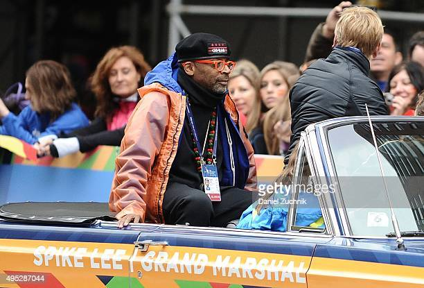 Director Spike Lee attends the TCS New York City Marathon on November 1 2015 in New York City