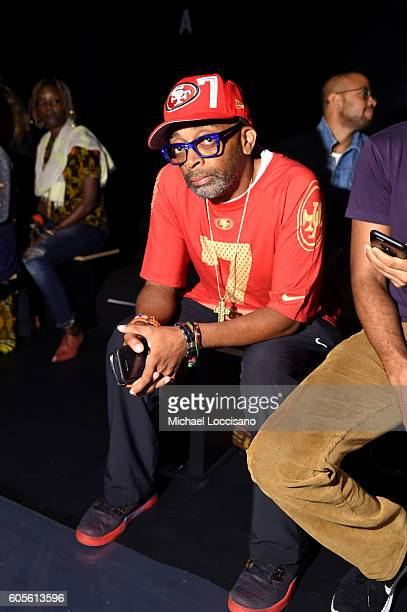 Director Spike Lee attends the Xuly Bet fashion show during New York Fashion Week The Shows at The Dock Skylight at Moynihan Station on September 14...