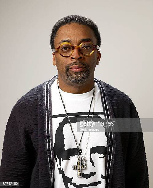 "Director Spike Lee from the film ""Miracle at St. Anna"", poses for a portrait during the 2008 Toronto International Film Festival at The Sutton Place..."