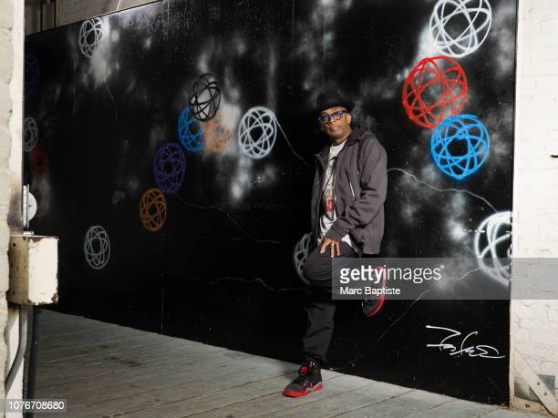 Director Spike Lee is photographed for Air Jordans on October 2, 2015 in New York City.