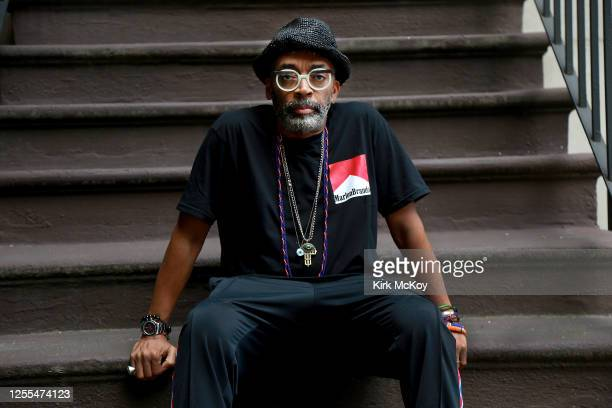 Director Spike Lee is photographed for Los Angeles Times on May 20, 2020 in New York, City. PUBLISHED IMAGE. CREDIT MUST READ: Kirk McKoy/Los Angeles...
