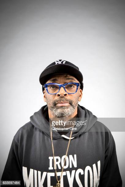 Director Spike Lee is photographed for The Guardian Magazine on November 13 2016 in New York City