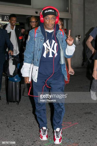 Director Spike Lee is seen during the 71st annual Cannes Film Festival at Nice Airport on May 13 2018 in Nice France