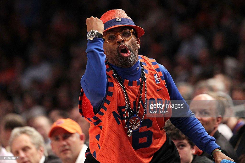Boston Celtics v New York Knicks - Game Three : News Photo