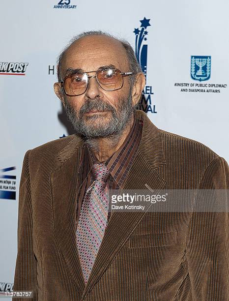 Director Stanley Donen attends the 25th Israel Film Festival at The Plaza Hotel on May 5 2011 in New York City