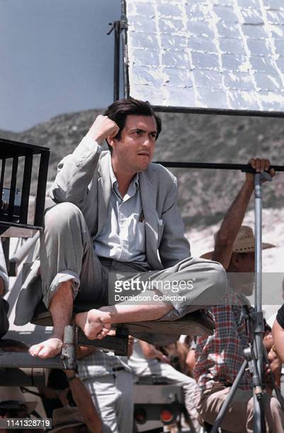 Director Stanley Kubrick on the set of the July 30, 1959 film 'Spartacus'.