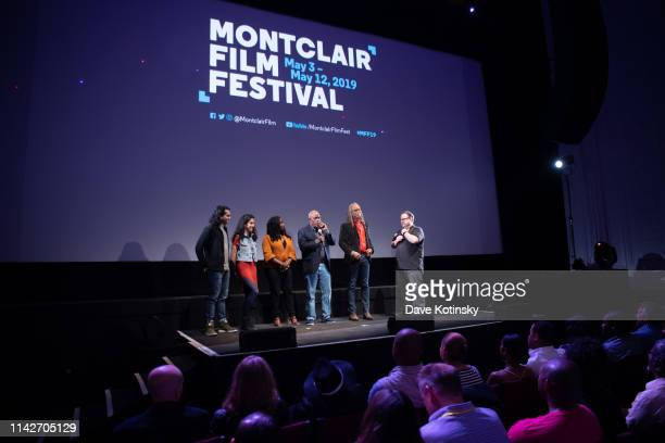 """Director Stanley Nelson speaks at the """"Miles Davis: Birth Of The Cool"""" screening at the 2019 Montclair Film Festival on May 10, 2019 in Montclair,..."""