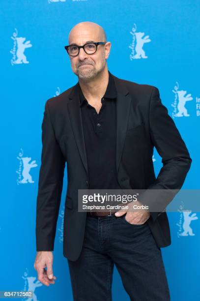 Director Stanley Tucci attends the 'Final Portrait' photo call during the 67th Berlinale International Film Festival Berlin at Grand Hyatt Hotel on...