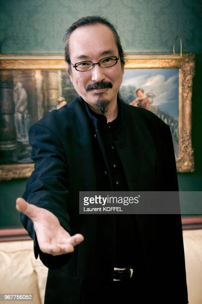 Director Staoshi Kon poses for a portrait session in Paris in France on October 13 2006 CLEARANCE REQUIRED BEFORE ANY USAGE CONSULT GAMMA