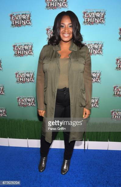 Director Stella Meghie attends Everything Everything Screening and Brunch at W Hotel Atlanta Midtown on April 23 2017 in Atlanta Georgia