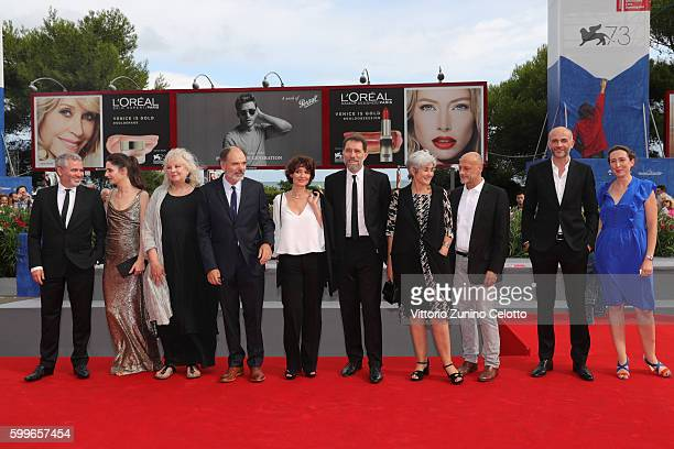 Director Stephane Brize actress Judith Chemla actress Yolande Moreau actors Jean Pierre Darroussin cowriter Florence Vignon producer Gilles Sacuto...