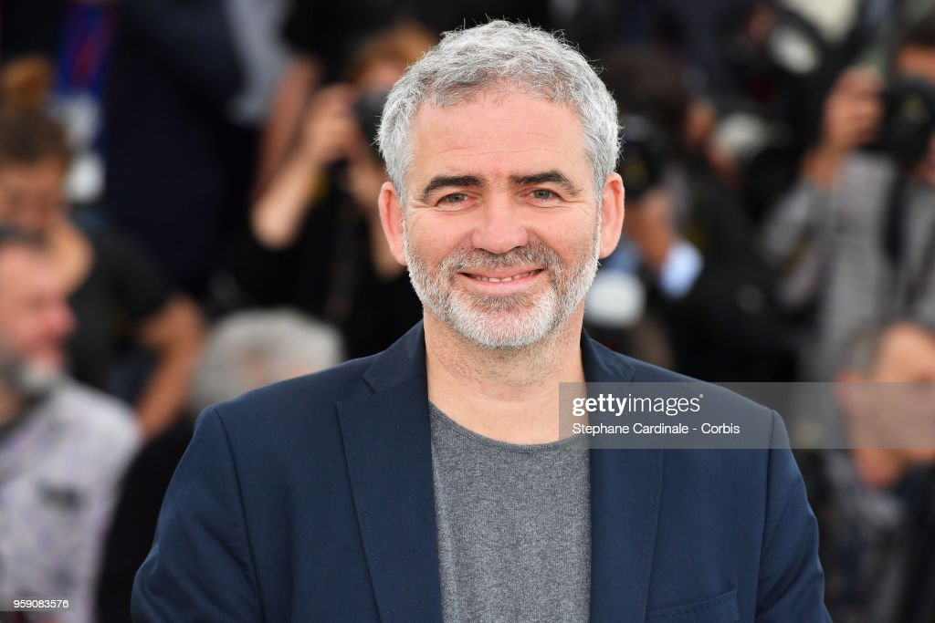 Director Stephane Brize attends 'In War (En Guerre)' Photocall during the 71st annual Cannes Film Festival at Palais des Festivals on May 16, 2018 in Cannes, France.