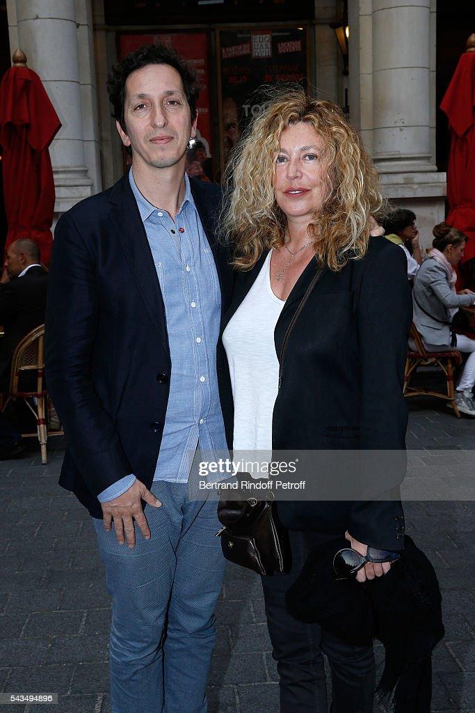 Director Stephane Foenkinos And Actress Stephanie Murat