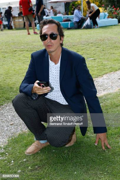 Director Stephane Foenkinos attends the 10th Angouleme FrenchSpeaking Film Festival Day Five on August 26 2017 in Angouleme France