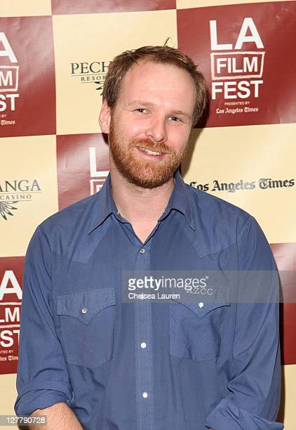 """Director Stephane Lafleur attends the """"Familiar Ground"""" Q & A during the 2011 Los Angeles Film Festival held at Regal Cinemas L.A. LIVE on June 18,..."""