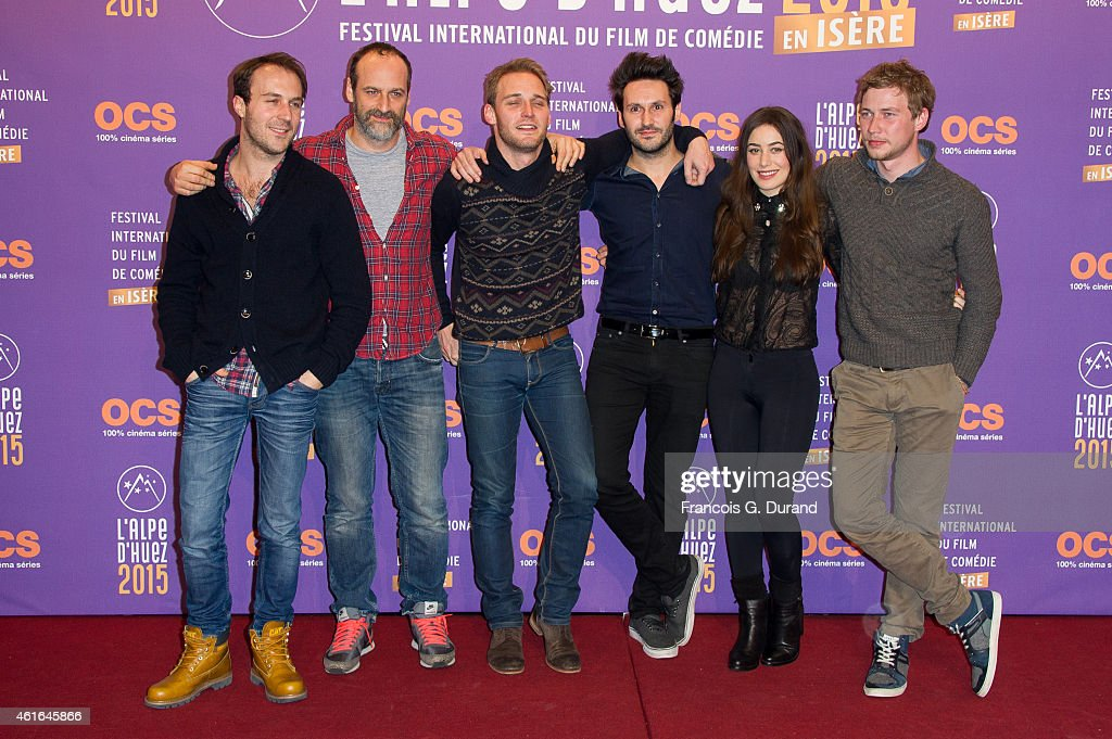 'Papa ou Maman'  screening at The 18th L'Alpe D'Huez International Comedy Film Festival : Day 3