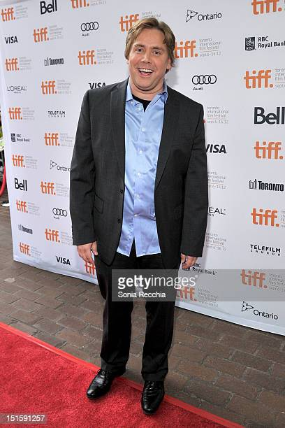 Director Stephen Chbosky attends The Perks Of Being A Wallflower premiere during the 2012 Toronto International Film Festival at Ryerson Theatre on...