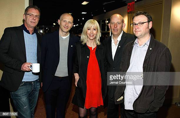 Director Stephen Daldry producer Jon Finn producer Sally Green choreographer Peter Darling and writer Lee Hall attend the 2009 Tony Awards Meet the...