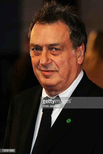 Director Stephen Frears arrives at the Orange British Academy Film Awards at the Royal Opera House on February 11 2007 in London England