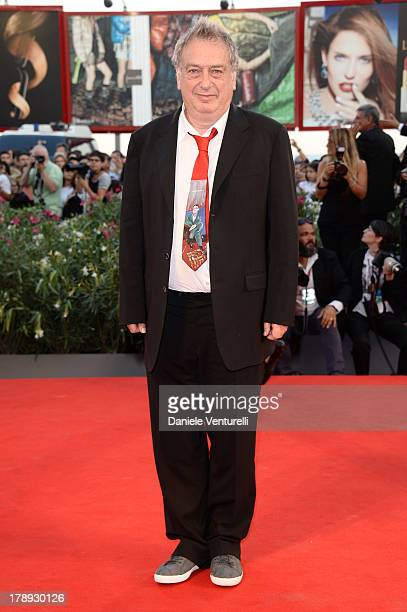 """Director Stephen Frears attends """"Philomena"""" Premiere during the 70th Venice International Film Festival at Sala Grande on August 31, 2013 in Venice,..."""