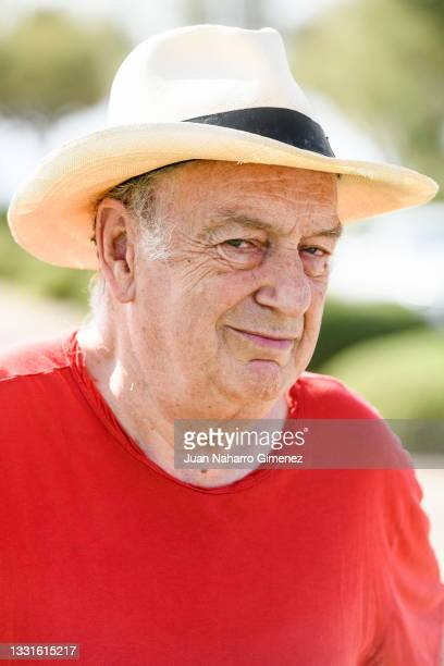 Director Stephen Frears attends poses for photographers during the Atlantida Mallorca Film Fest 2021 at Catedral on July 31, 2021 in Palma de...