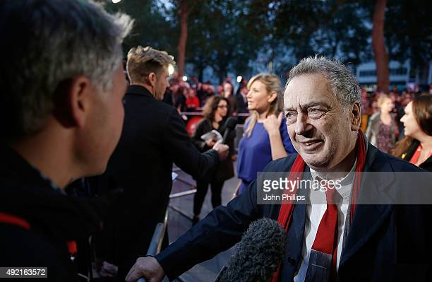 Director Stephen Frears attends the 'The Program' screening, during the BFI London Film Festival, at Vue Leicester Square on October 10, 2015 in...