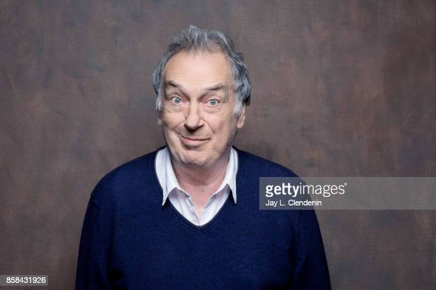 """Director Stephen Frears from the film, """"Victoria & Abdul,"""" poses for a portrait at the 2017 Toronto International Film Festival for Los Angeles Times..."""
