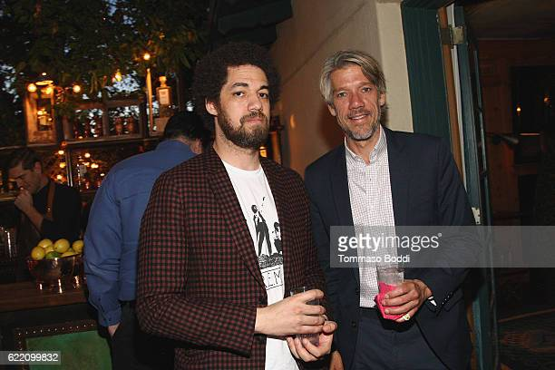 Director Stephen Gaghan and guest attend the TWCDimension celebrates the Cast and Filmmakers of Gold at the private residence of Jonas Tahlin CEO...