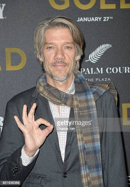 Director Stephen Gaghan attends the world premiere of Gold hosted by TWCDimension at AMC Loews Lincoln Square 13 theater on January 17 2017 in New...