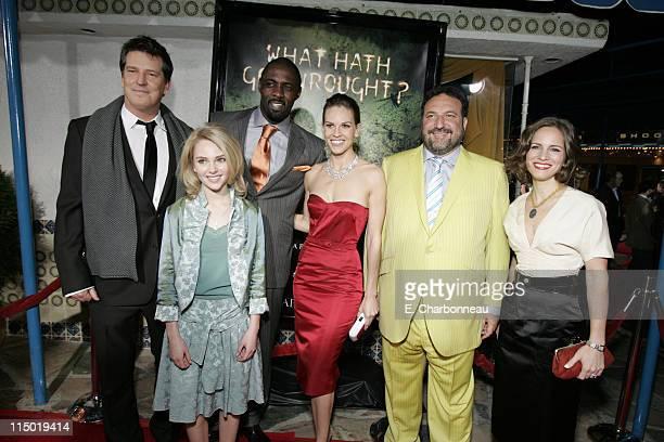 Director Stephen Hopkins AnnaSophia Robb Idris Elba Hilary Swank Producer Joel Silver and Producer Susan Downey