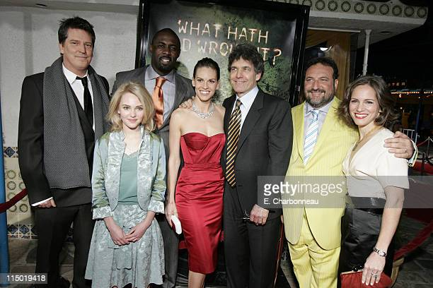 Director Stephen Hopkins AnnaSophia Robb Idris Elba Hilary Swank Warner Bros' Alan Horn Producer Joel Silver and Producer Susan Downey