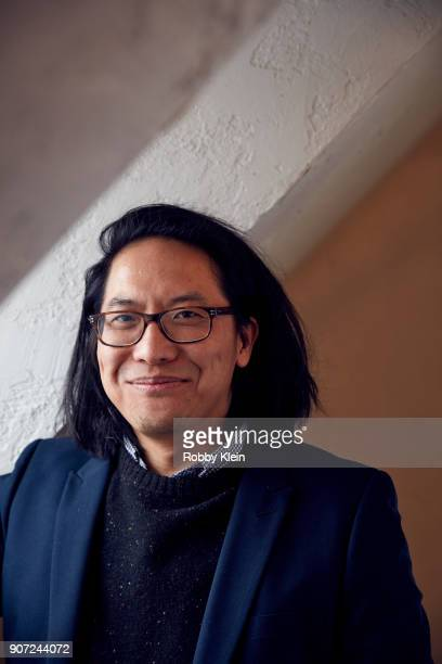 Director Stephen Maing from the film 'Crime and Punishment poses for a portrait in the YouTube x Getty Images Portrait Studio at 2018 Sundance Film...