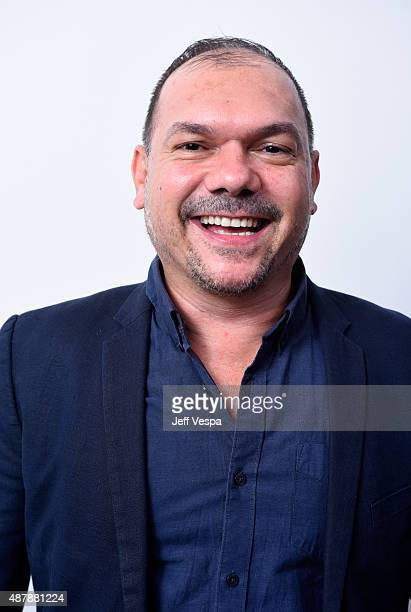Director Stephen Page from Spear poses for a portrait during the 2015 Toronto International Film Festival at the TIFF Bell Lightbox on September 12...