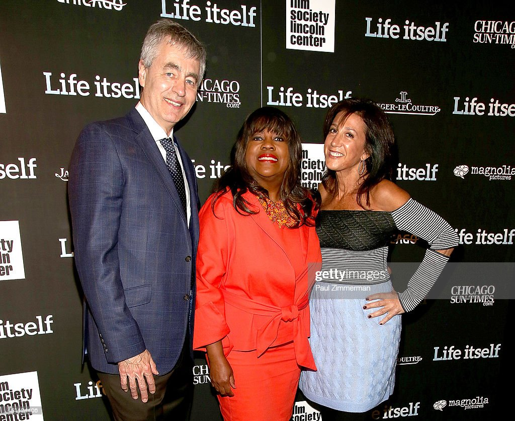 director steve james  chaz ebert and marlene iglitzen attend the    news photo