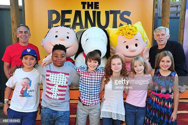 Director Steve Martino Alexander Garfin Marleik Mar Mar Walker Noah Schnapp Francesca Capaldi Mariel Sheets Hadley Belle Miller and writer/producer...