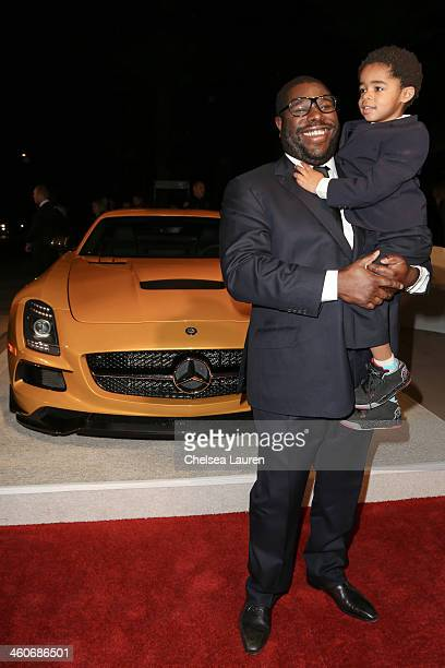 Director Steve McQueen arrives in style during the MercedesBenz arrivals at the 25th Annual Palm Springs International Film Festival Awards Gala...