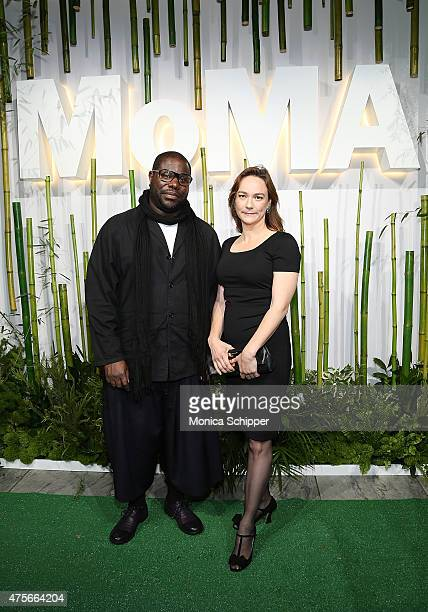 Director Steve McQueen attends Museum Of Modern Art's 2015 Party In The Garden Arrivals at Museum of Modern Art on June 2 2015 in New York City