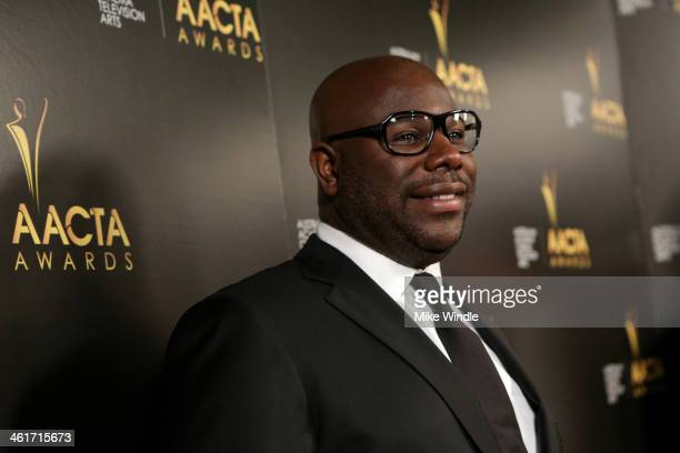 Director Steve McQueen attends the 3rd AACTA International Awards at Sunset Marquis Hotel Villas on January 10 2014 in West Hollywood California