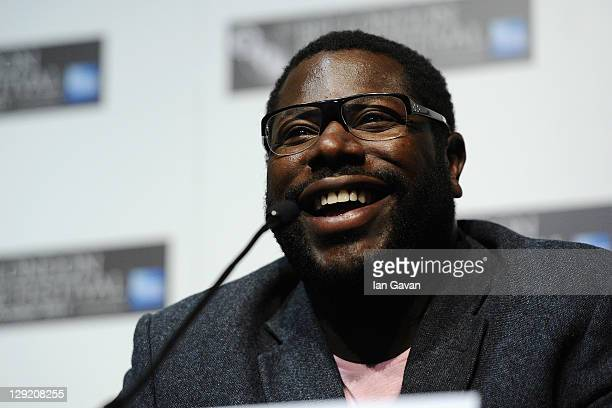 """Director Steve McQueen attends the """"Shame"""" press conference during the 55th BFI London Film Festival at the Vue West End on October 14, 2011 in..."""