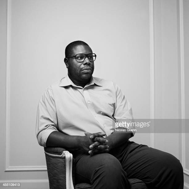 Director Steve McQueen is photographed for Self Assignment on December 10 2013 in Paris France