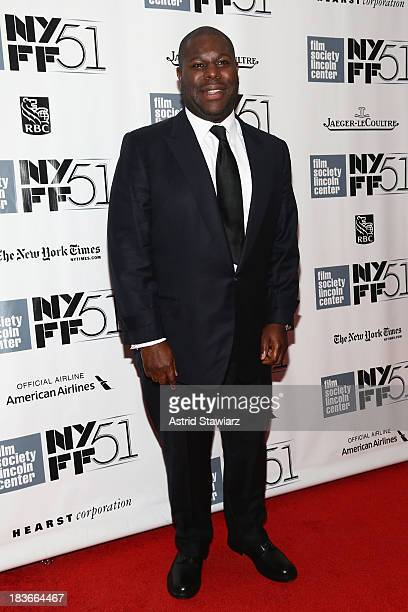 Director Steve McQueenattends the 12 Years A Slave premiere during the 51st New York Film Festival at The Film Society of Lincoln Center Walter Reade...