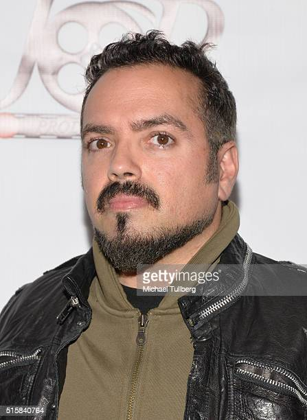 Director Steven Ayromlooi attends the premiere of JR Productions' Halloweed at TCL Chinese 6 Theatres on March 15 2016 in Hollywood California