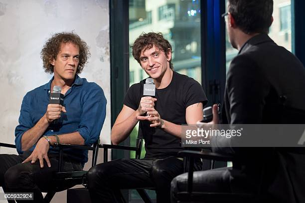 Director Steven Cantor and Royal Ballet principal dancer Sergei Polunin attend the BUILD Speaker Series to discuss the film Dancer at AOL HQ on...